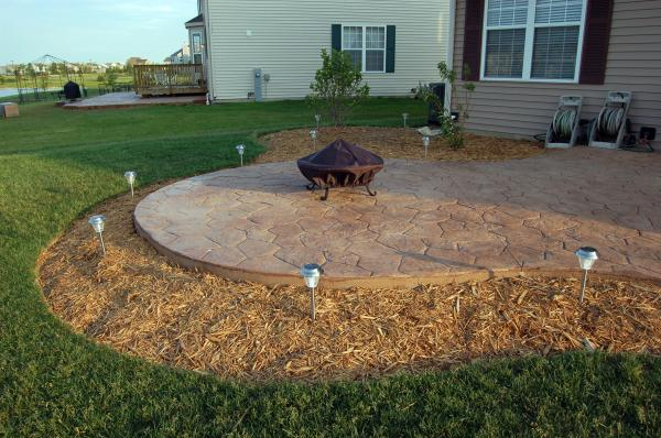 Superior Pictures U0026 Ideas For Your Concrete Patio Or Driveway. Above ...